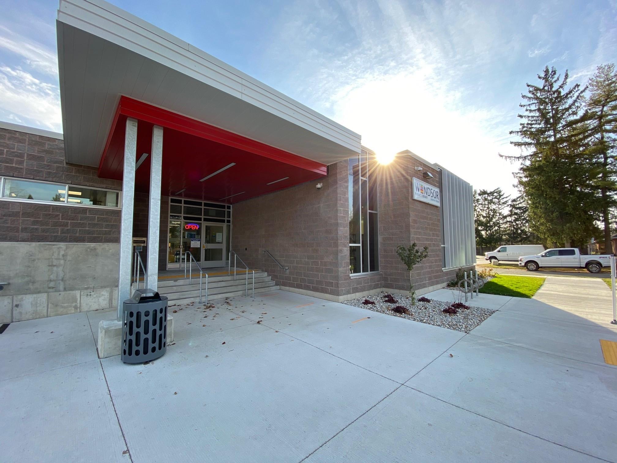 Budimir Public Library Windsor Ontario Exterior