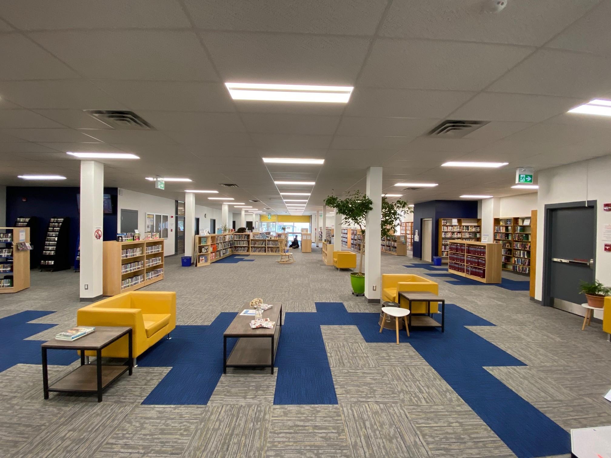 Budimir Public Library Windsor Ontario Interior