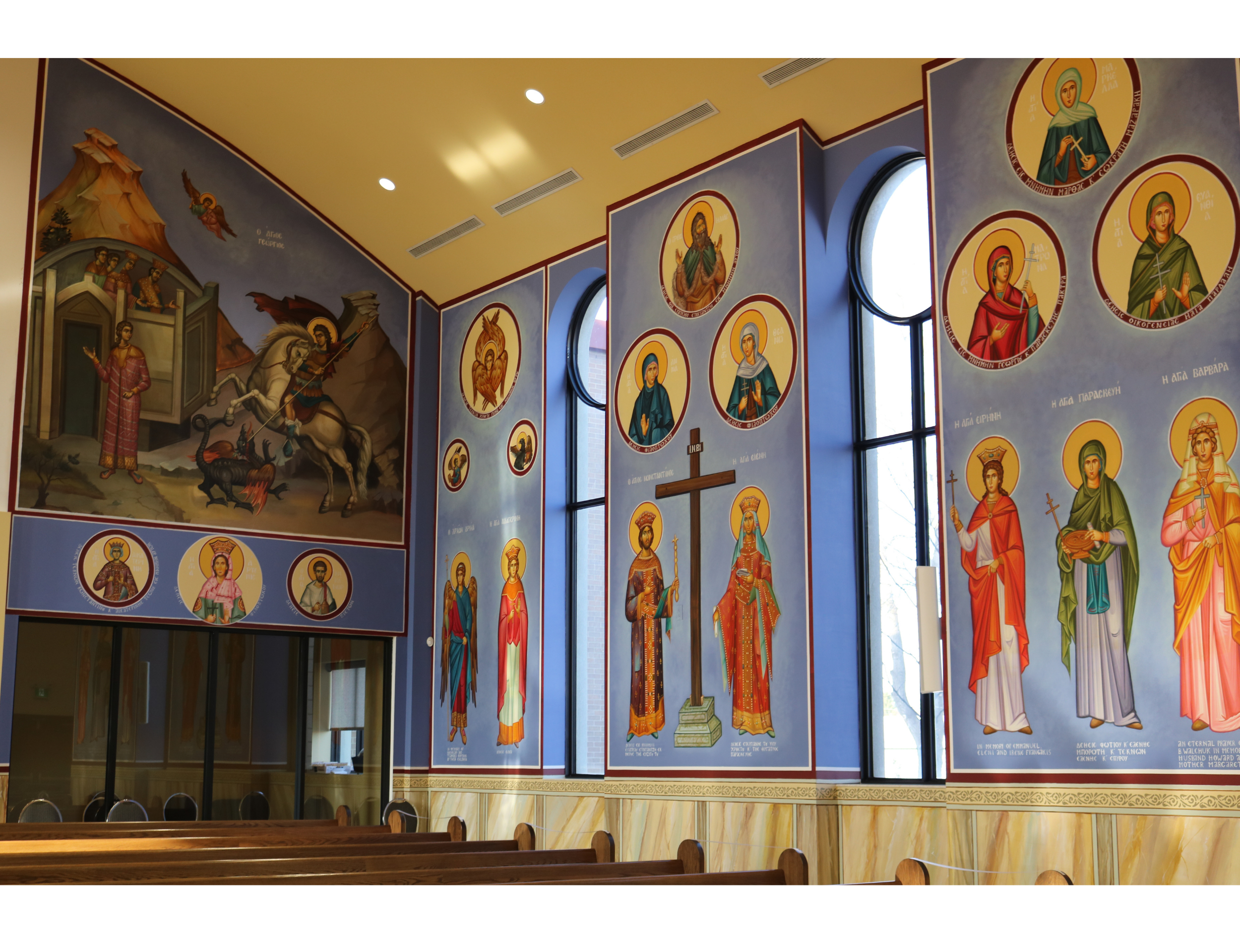 Greek Orthodox Church Windsor Ontario Interior