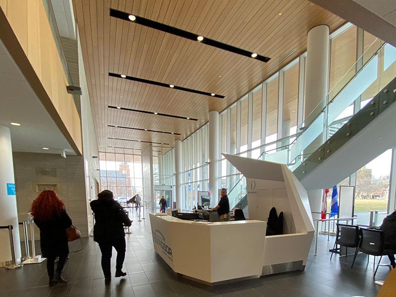 Inside City Hall Windsor Ontario