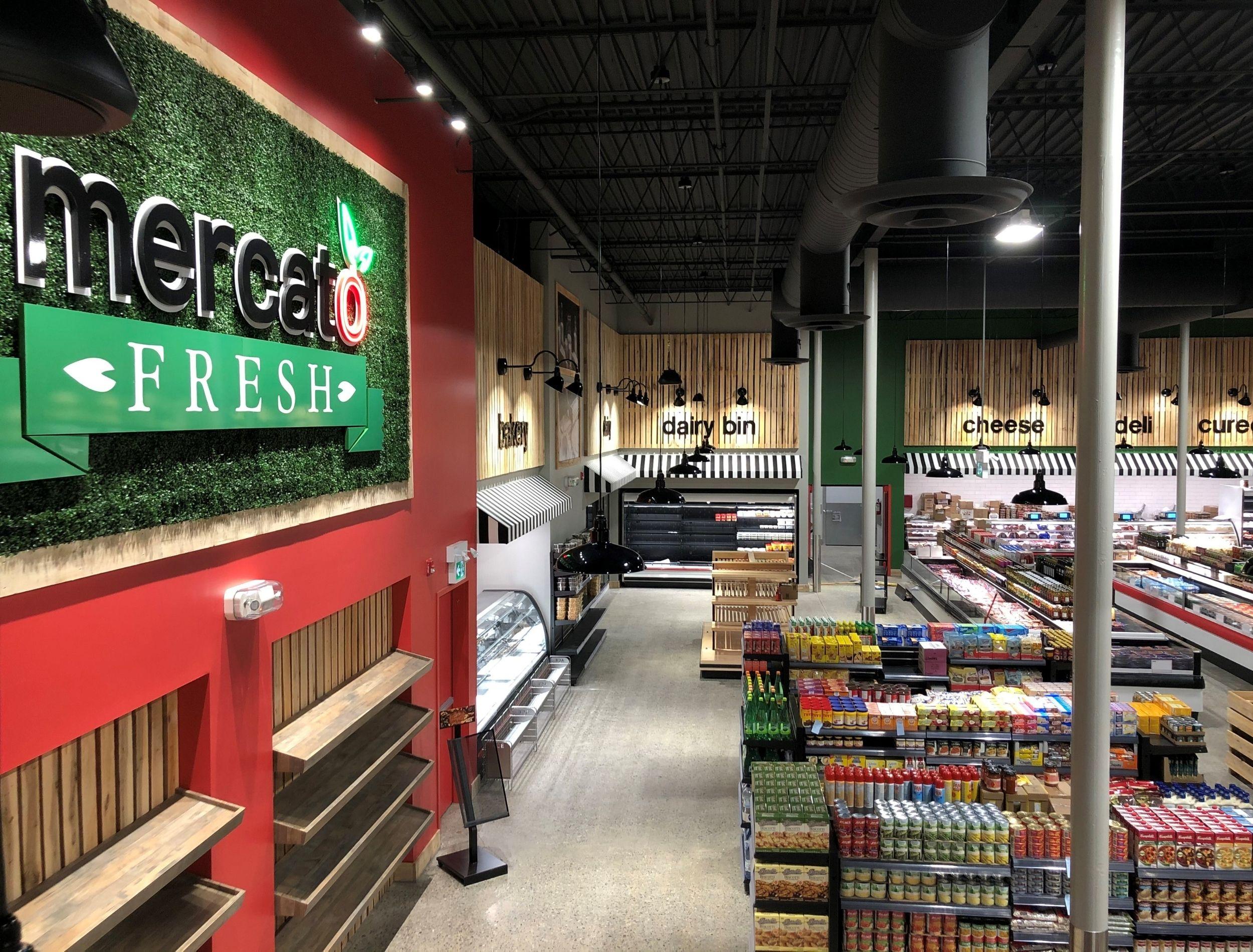 Mercato Fresh Chatham Ontario Interior